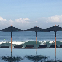 Beach Beach Clubs in Bali. Finns Beach Cluc