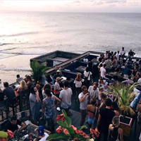 Best Sunset in Bali at Single Fin
