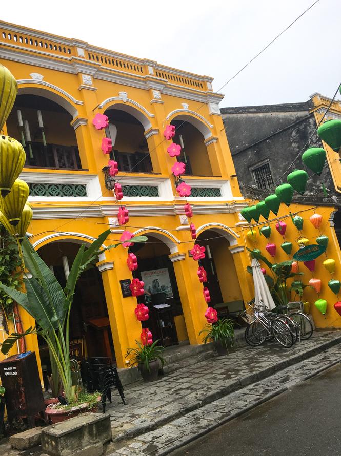 The colours of Hoi An Vietnam