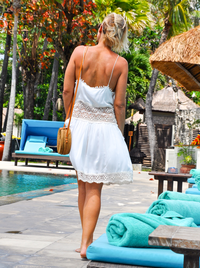 Braids Lace and Rattan at the Belmond in Bali